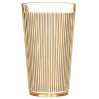 Carlisle 403322 12 oz. Yellow Crystalon RimGlow Polycarbonate Tumbler - 48/Case
