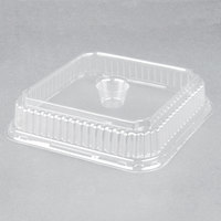 Genpak 95304 Clear Dome 4 Muffin Pan Lid - 250/Case