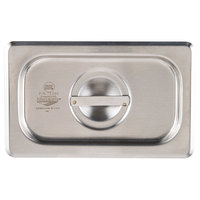 Vollrath 75360 Super Pan V 1/9 Size Solid Stainless Steel Steam Table / Hotel Pan Cover