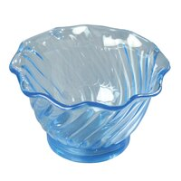 5 oz. Tulip Dessert Dishes - Blue 12 / Pack