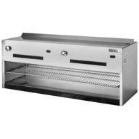 Garland IRCMA-72 Natural Gas 72 inch Regal Series Countertop Cheese Melter - 60,000 BTU