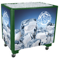 IRP Green Ice Saver 060 Mobile 100 Qt. Frost Box with Casters