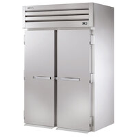 True STR2RRI89-2S Specification Series 89 inch Two Section Roll In Refrigerator with Solid Doors - 80 Cu. Ft.