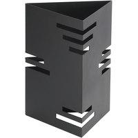 Cal-Mil 1528-12-13 Black Triangle Riser - 9 inch x 9 inch x 12 inch