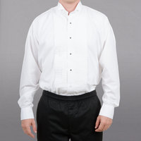 Server Tuxedo Shirt - Men's White Small