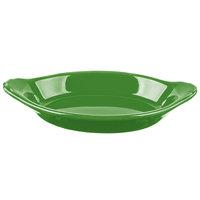 Hall China 30528324 Shamrock 12 oz. Colorations Oval Rarebit / Au Gratin Dish - 24/Case