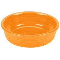 Homer Laughlin 460325 Fiesta Tangerine 14.25 oz. Nappy Bowl - 12/Case