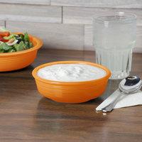 Homer Laughlin 460325 Fiesta Tangerine 14.25 oz. Small Nappie Bowl - 12/Case