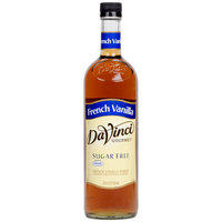 DaVinci Gourmet 750 mL French Vanilla Sugar Free Coffee Flavoring Syrup