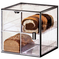 Cal-Mil 1720-4 Iron Four Compartment Bread Case - 13 inch x 12 1/2 inch x 13 inch
