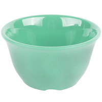 GET BC-70-FG Diamond Mardi Gras 7 oz. Rainforest Green Melamine Bouillon - 48/Case