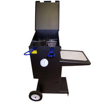 R & V Works FF2 4 Gallon Outdoor Cajun Deep Fryer with Stand