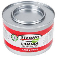 Sterno Products 20108 2 Hour Ethanol Power Heat Plus Chafing Dish Fuel   - 72/Case