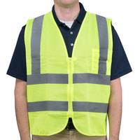 Lime Class 2 High Visibility Safety Vest - Medium