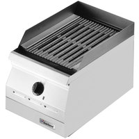 Garland ED-42B Designer Series 42 inch Electric Countertop Charbroiler - 208V, 3 Phase, 8.1 kW