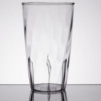 Carlisle 4366807 Swirl 16 oz. Clear Polycarbonate Tumbler - 36/Case