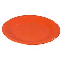 Carlisle 3301852 Sierrus 6 1/2 inch Sunset Orange Wide Rim Melamine Pie Plate - 48/Case