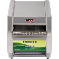 APW Wyott ECO-4000 QST 500E 10 inch Wide Conveyor Toaster with 1 1/2 inch Opening and Electronic Controls - 240V