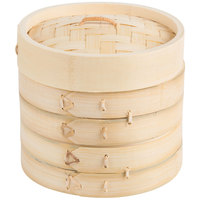 Town 34206 Bamboo Steamer Set - 6 inch