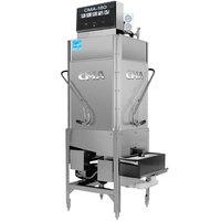CMA Dishmachines CMA-180TC Single Rack High Temperature Tall Corner Dishwasher - 208/240V, 1 Phase