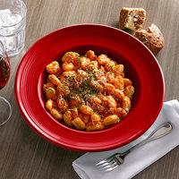 Tuxton CQD-120 Concentrix 24.5 oz. Cayenne China Soup / Pasta Bowl   - 6/Case