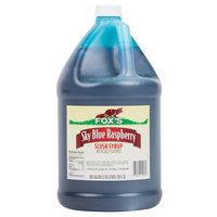 Fox's Blue Raspberry Slush Syrup - 1 Gallon