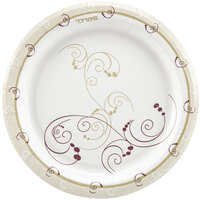 Dart Solo MP7-J8001 Symphony 7 inch Medium Weight Paper Plate - 125 / Pack