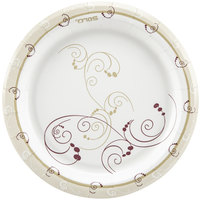Dart Solo MP7-J8001 Symphony 7 inch Medium Weight Paper Plate   - 125/Pack