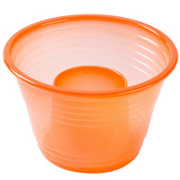 Fineline Quenchers 4112-ORG Blaster Bomb Shot Cups / Power Bombs Neon Orange - 25/Pack