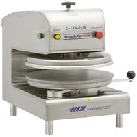 DoughXpress D-TXA-2-18 Dual Heat Round Air Automatic Tortilla Press 18 inch - 220V