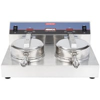Nemco 7030A-2 Waffle Cone Maker - Double Grid, 120V