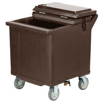 Carlisle IC225401 Brown Cateraide 125 lb. Mobile Ice Caddy