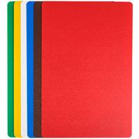 Tablecraft FCB1218A 12 inch x 18 inch Flexible Cutting Board - 6/Set