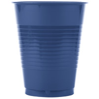 Creative Converting 28113781 16 oz. Navy Blue Plastic Cup - 240/Case