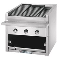 Bakers Pride C-84GS Natural Gas 84 inch Glo Stone Charbroiler - 360,000 BTU