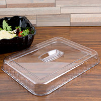 Cambro DCC10135 Clear Deli Crock Lid for 4.9 Qt. Deli Crocks