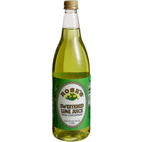 Rose's 1 Liter Lime Juice - 12/Case