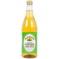 Rose's 1 Liter Lime Juice - 12/Case