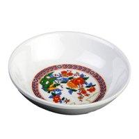 Peacock 1 oz. Round Melamine Sauce Dish - 60 / Pack