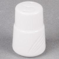 CAC GAD-SS Garden State 2 7/8 inch Bone White Porcelain Salt Shaker - 48/Case
