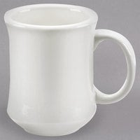 Core 7 oz. American White Princess Bell Shaped China Coffee Mug (Ivory) - 36/Case