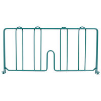 Metro DD18-DHG 18 inch Hunter Green Wire Shelf Divider