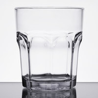 Carlisle 581207 Louis 12 oz. Clear Plastic Rocks Glass - 24/Case