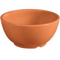 GET B-45-PK Diamond Harvest 10 oz. Pumpkin Melamine Bowl - 24/Case