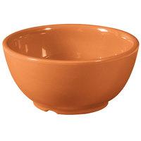 GET B-45-PK Diamond Harvest 10 oz. Pumpkin Melamine Bowl - 24/Case