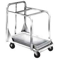 Winholt D2027A-BPC Aluminum Sheet Pan Truck with Two Top Cross Bars