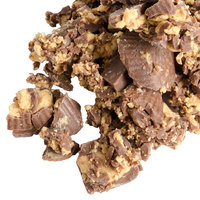 Dutch Treat Ground Peanut Butter Cup Topping - 10 lb.