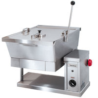 Cleveland SET-10 10 Gallon Electric Countertop Tilt Skillet - 240V, 3 Phase