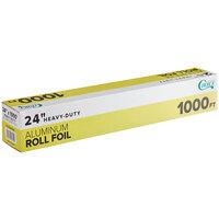 Choice 24 inch x 1000' Food Service Heavy-Duty Aluminum Foil Roll