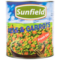 Sweet Peas and Diced Carrots - #10 Can - 6/Case